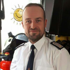 MSK Matec's Heiko Hentzschel works also as a firefighter.